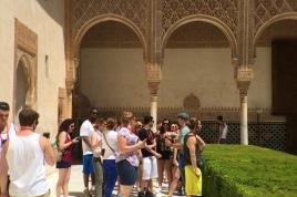 La Alhambra, Granada, Spain.